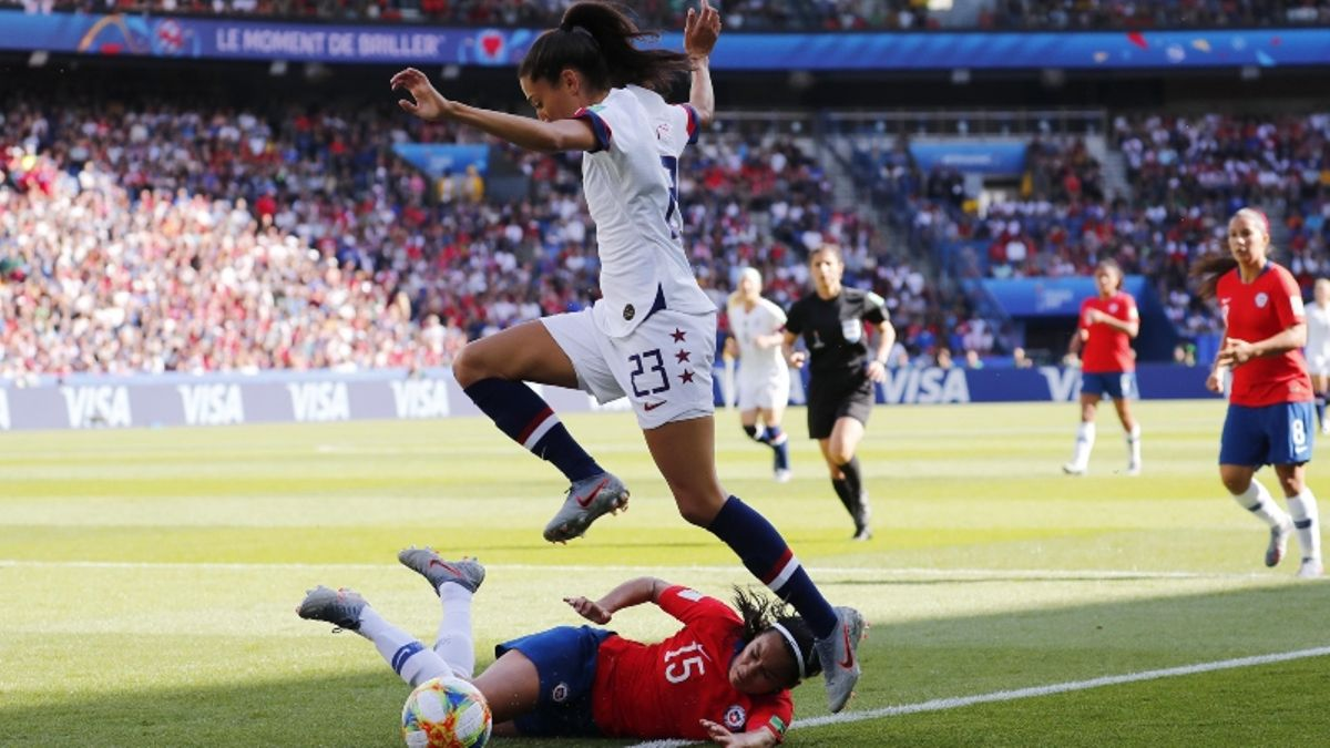 2019 Women's World Cup Betting Odds, Preview: USA Faces Toughest Test Yet vs. Sweden article feature image