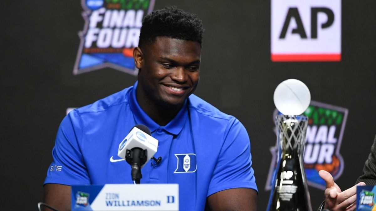 2019-20 NBA Rookie of the Year Odds: Zion Williamson Massive Favorite Before Draft article feature image