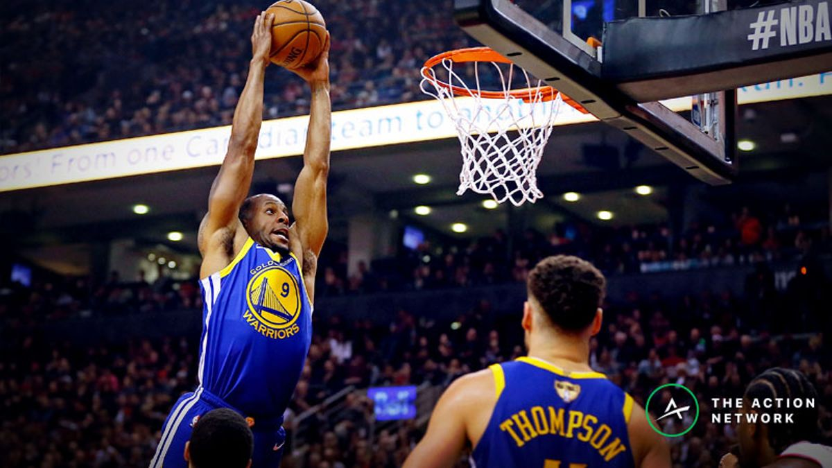 Moore: Why Andre Iguodala Is Essential For the Warriors in Game 2 article feature image
