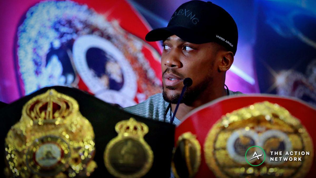 Where Does Legalized Sports Betting Fit Into Anthony Joshua's U.S. Debut? article feature image