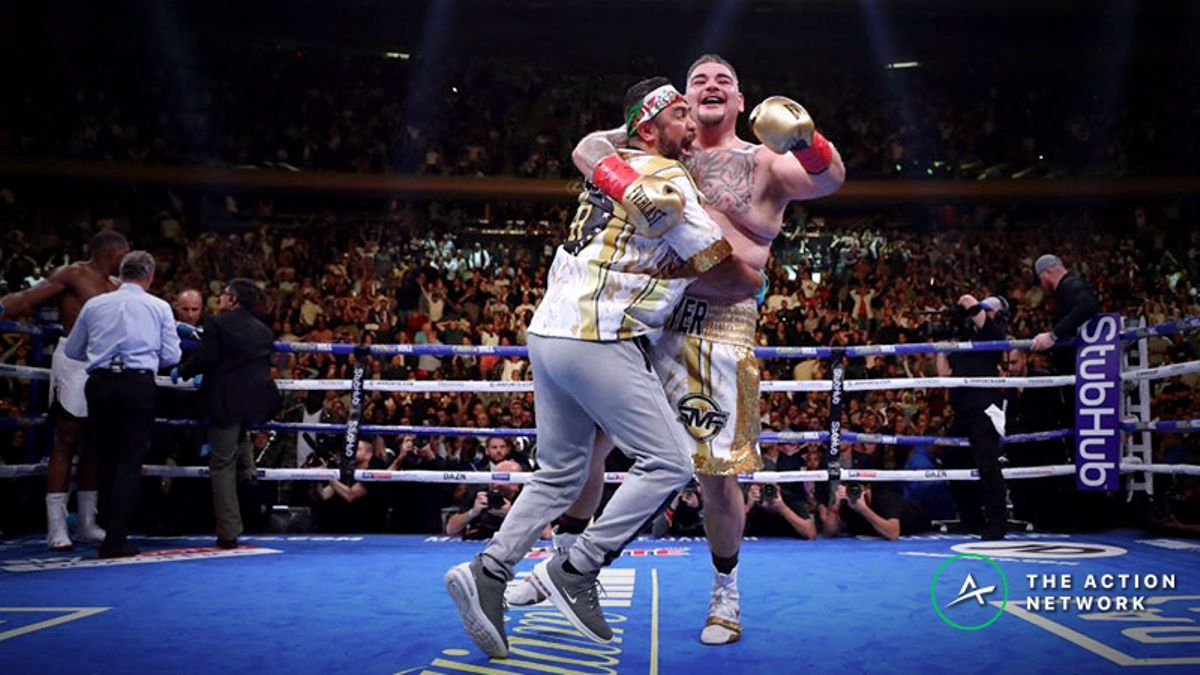 Andy Ruiz's Odds-Defying Upset: Anthony Joshua Loses as Massive Favorite article feature image