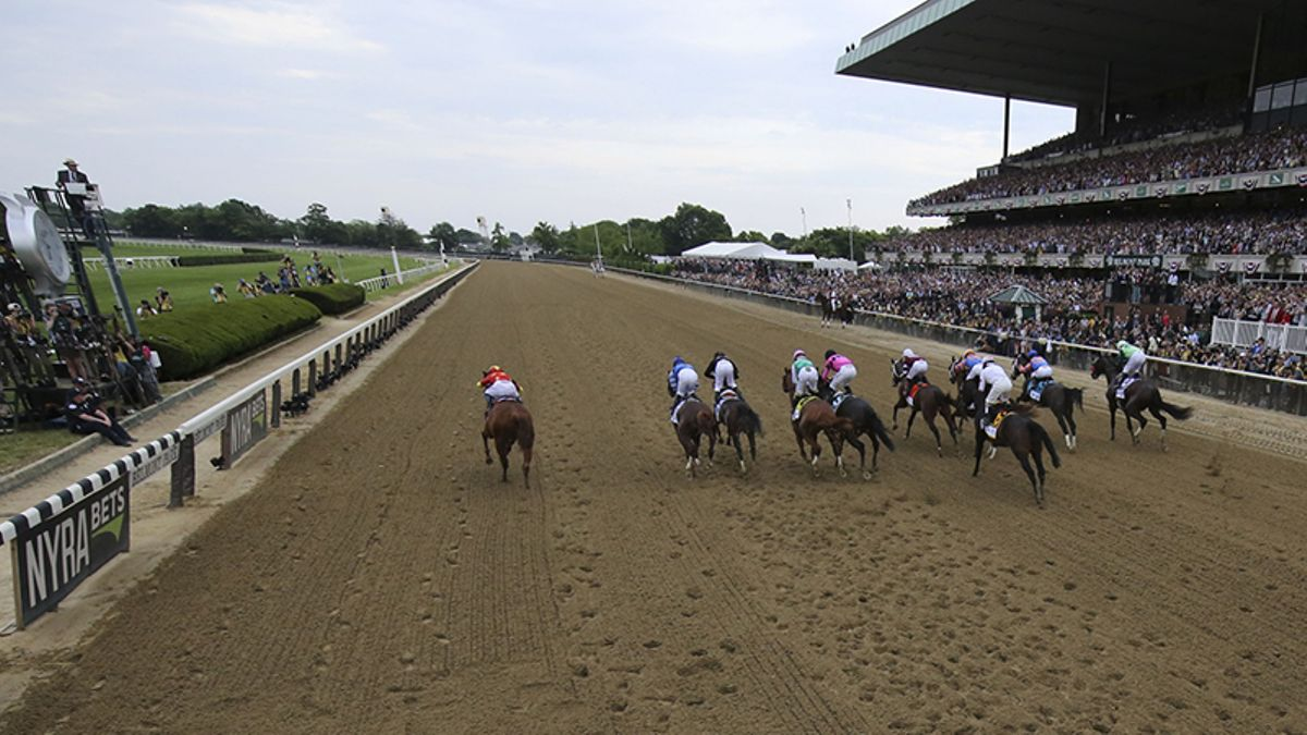 2019 Belmont Stakes Results, Payouts: Sir Winston Upsets Tacitus, War of Will article feature image