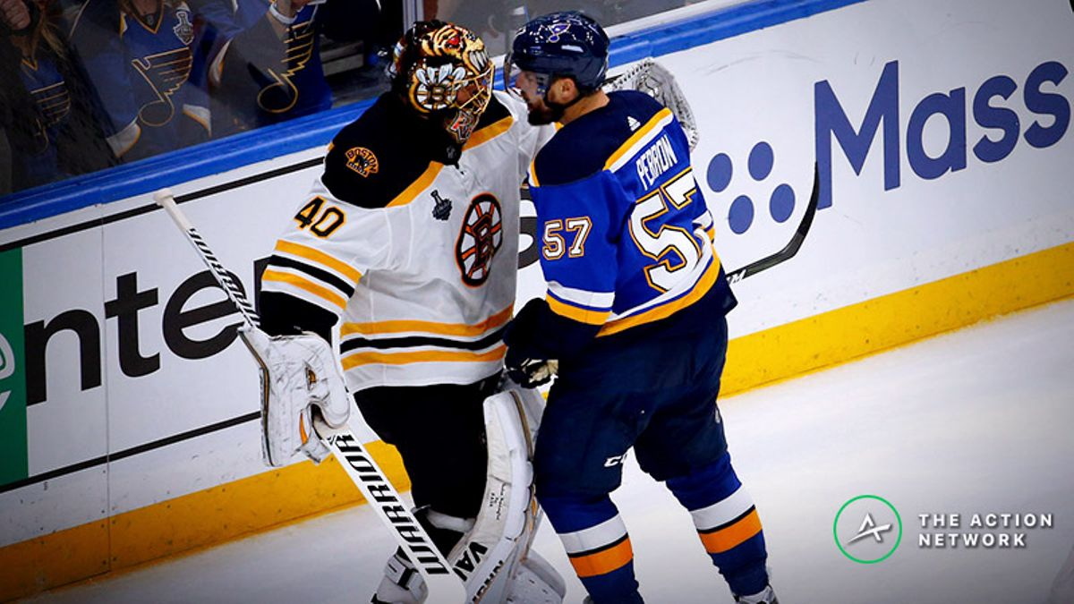 Bruins vs. Blues Game 4 Betting Odds, Preview: Will Boston Continue to Roll? article feature image