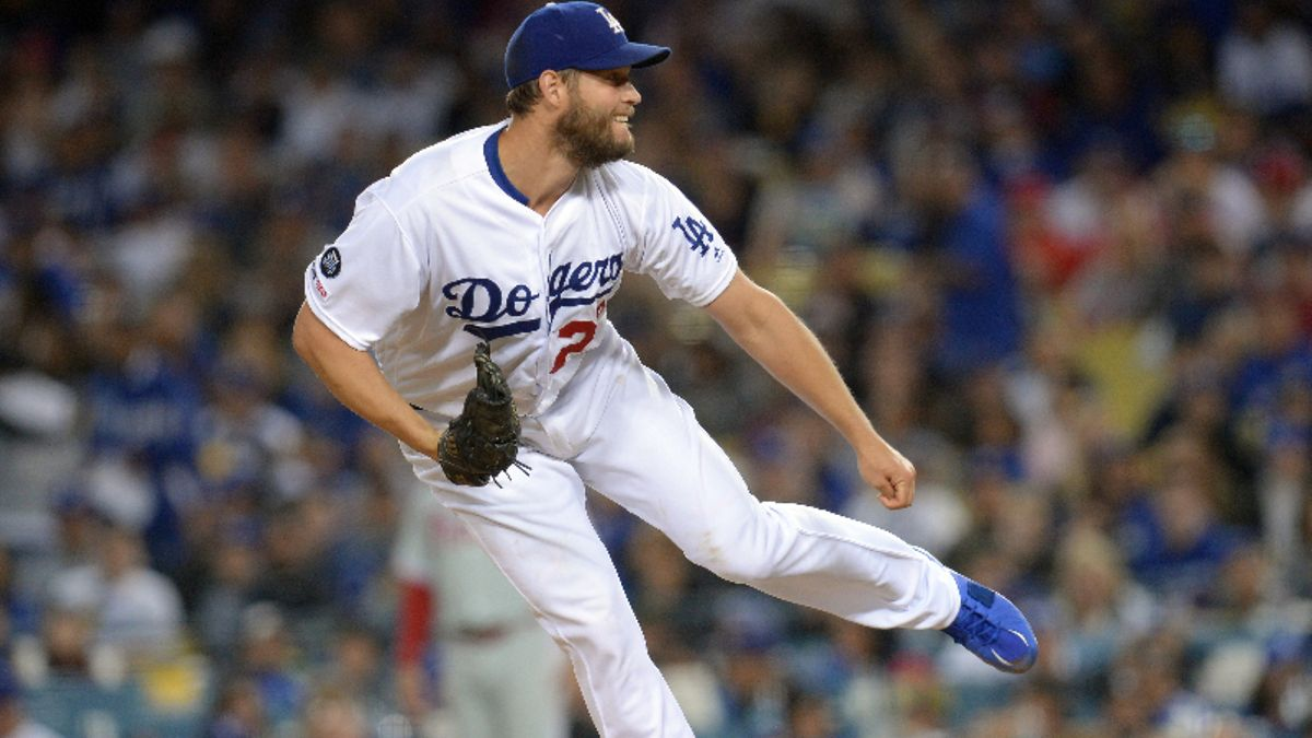 MLB Daily Betting Model, 6/7: Can Clayton Kershaw Stay Hot in San Fransisco? article feature image
