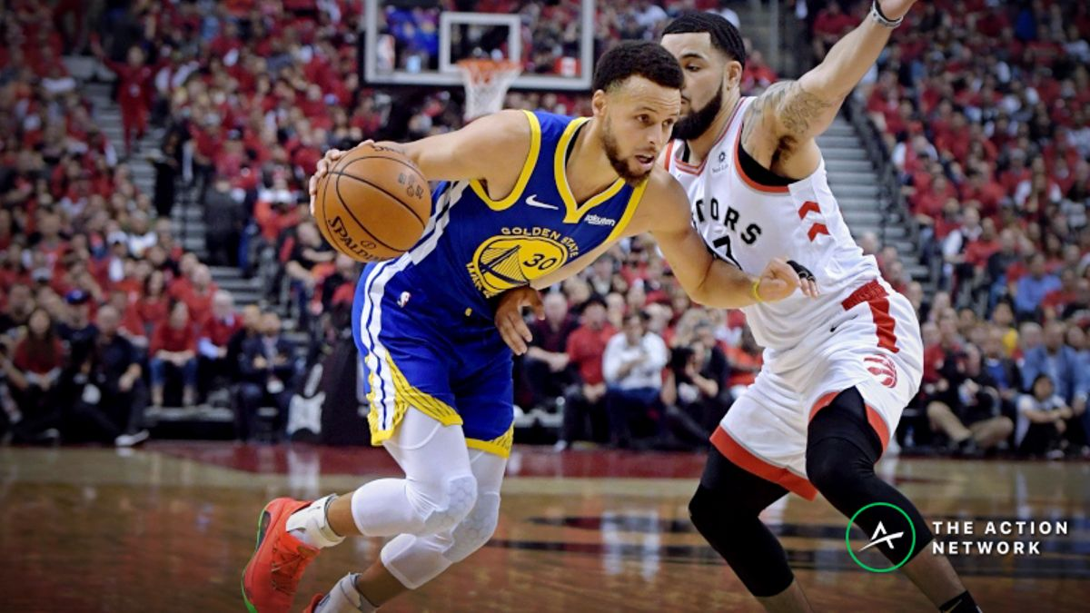 Updated 2019 NBA Finals MVP Odds: Steph Curry Remains Heavy Favorite article feature image
