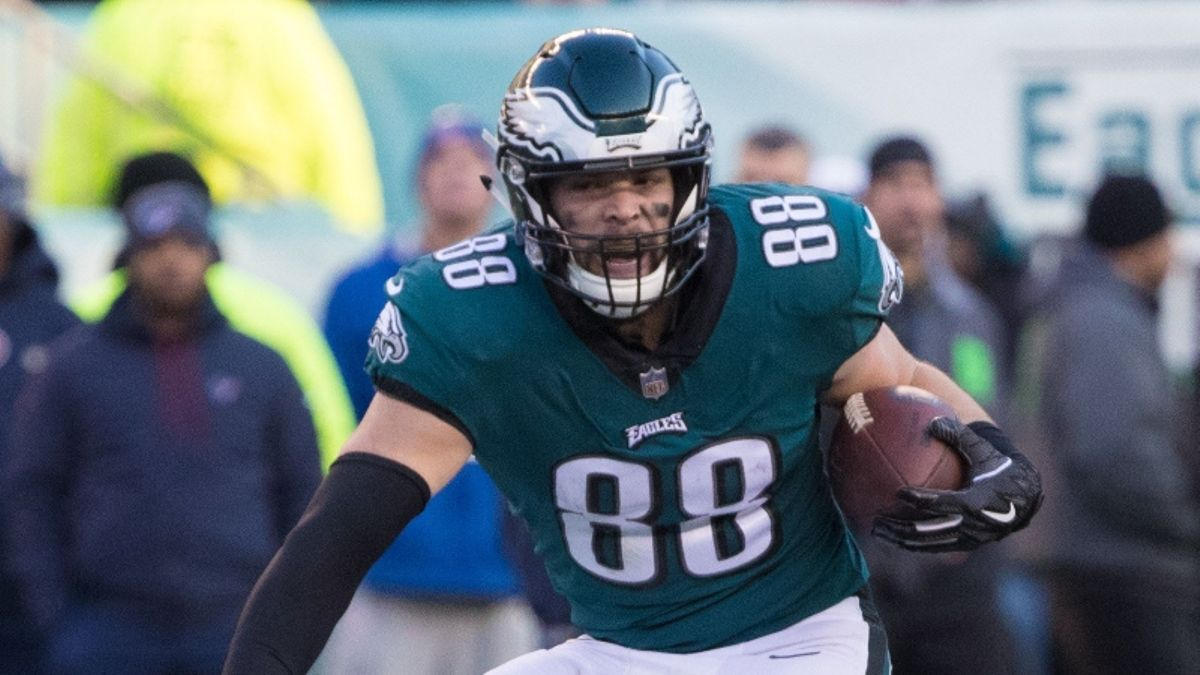 Dallas Goedert Fantasy Football Rankings, 2019 Projections, Analysis, More article feature image