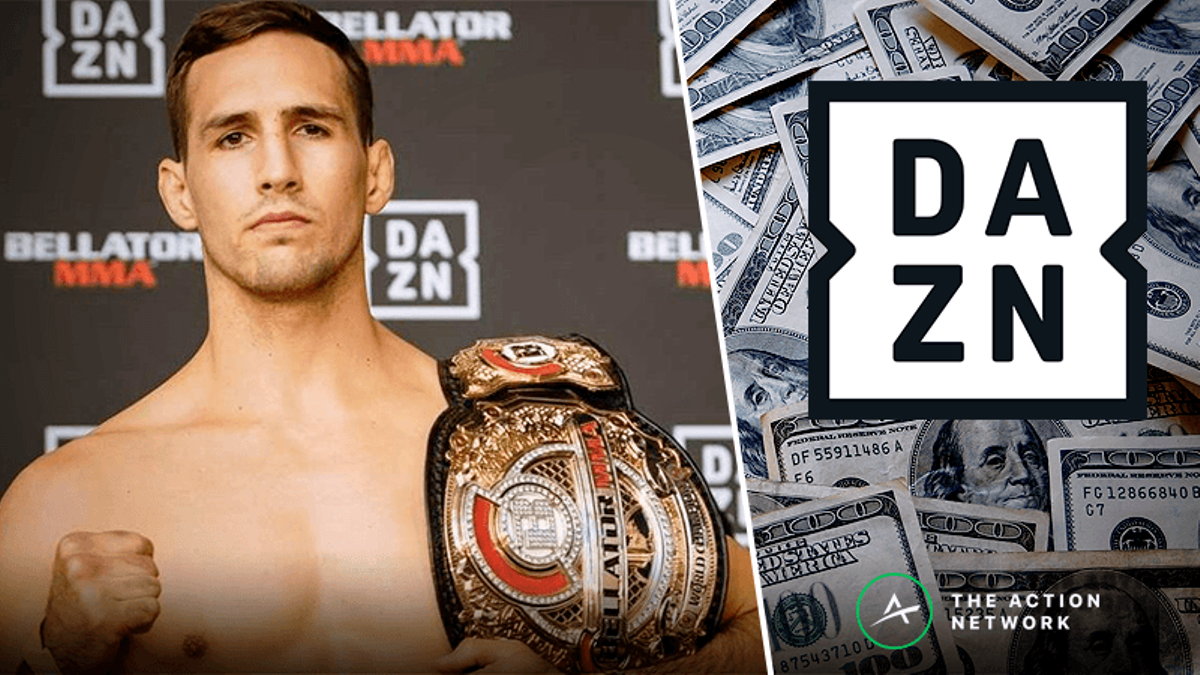 Win $5,000 in Cash Prizes: Enter The FREE DAZN + Action Network Bellator 222 Props Contest article feature image