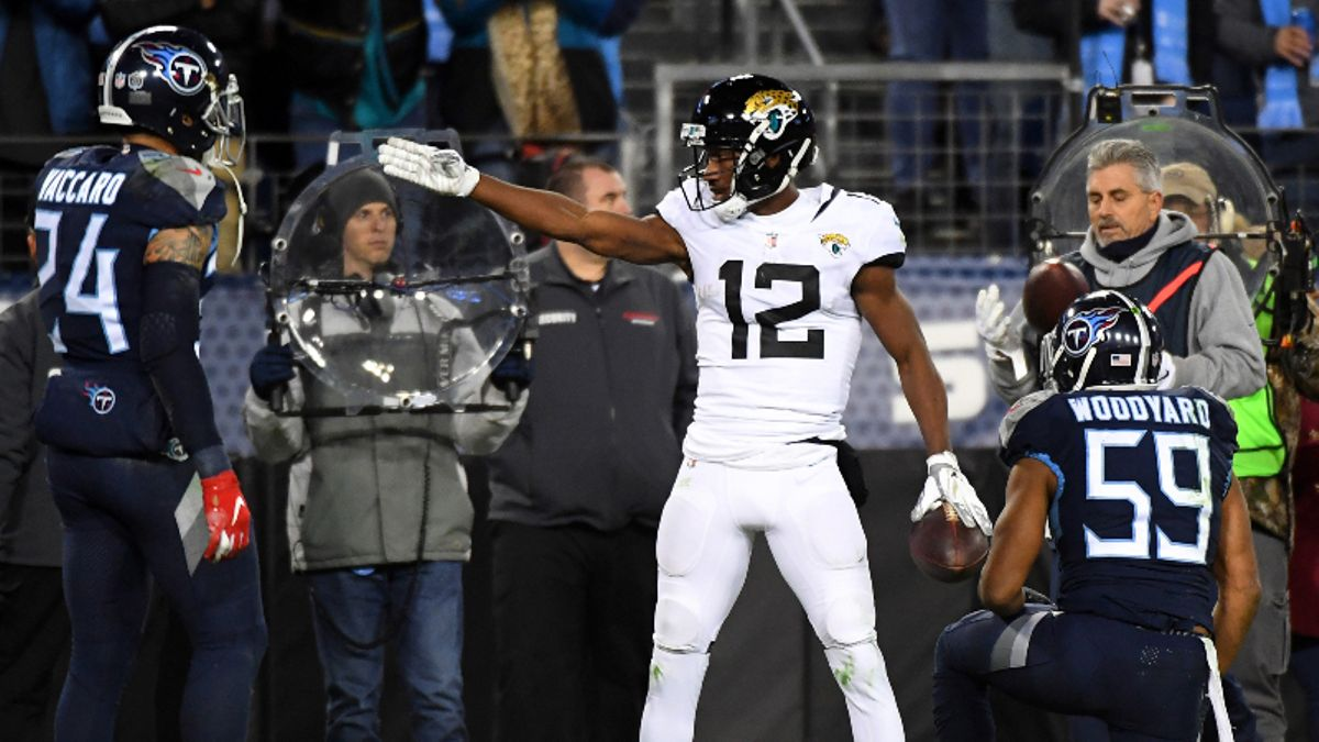 Is Dede Westbrook the Jaguars Wide Receiver to Target in Fantasy Football? article feature image