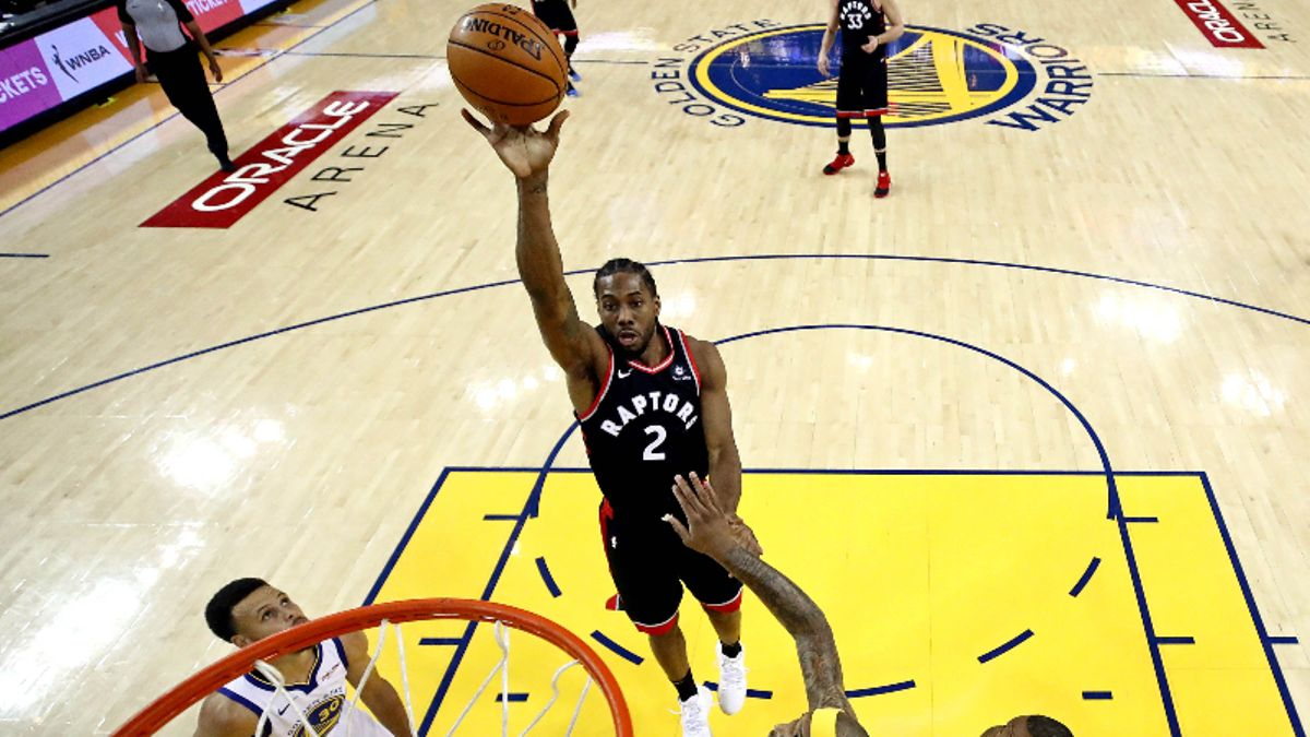 Raptors-Warriors Series Betting Odds: Toronto Now Favored to Win 2019 NBA Finals article feature image