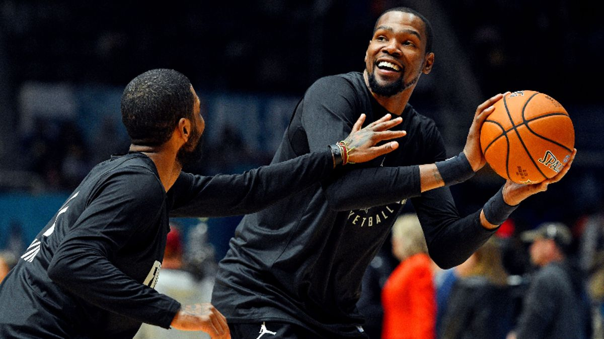 Kyrie and Durant to the Nets: The Implications of Brooklyn's Free-Agency Haul article feature image