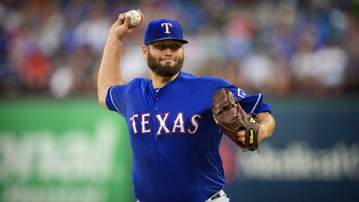 MLB Daily Betting Model, 6/12: Can Lance Lynn, Rangers, Clinch Series Win vs. Red Sox? article feature image