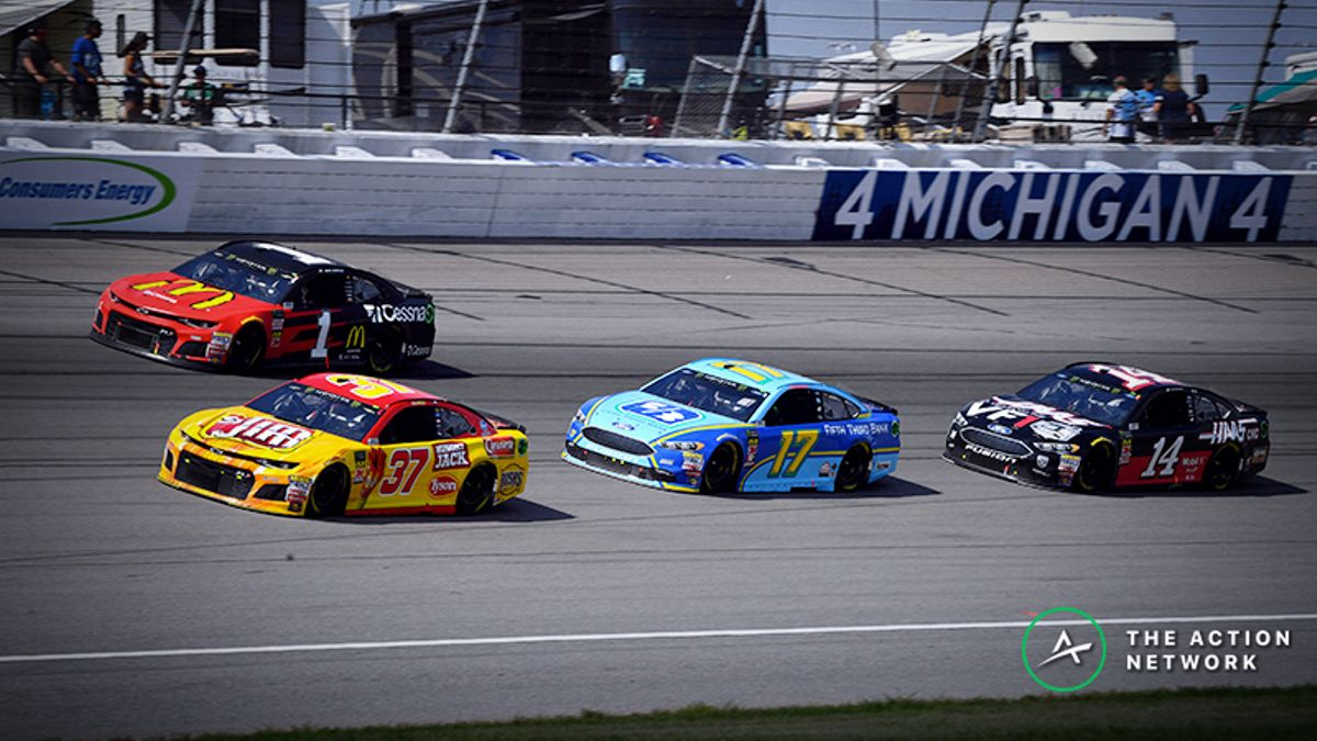 NASCAR Props Challenge Picks for Monday's FireKeepers Casino 400 at Michigan article feature image