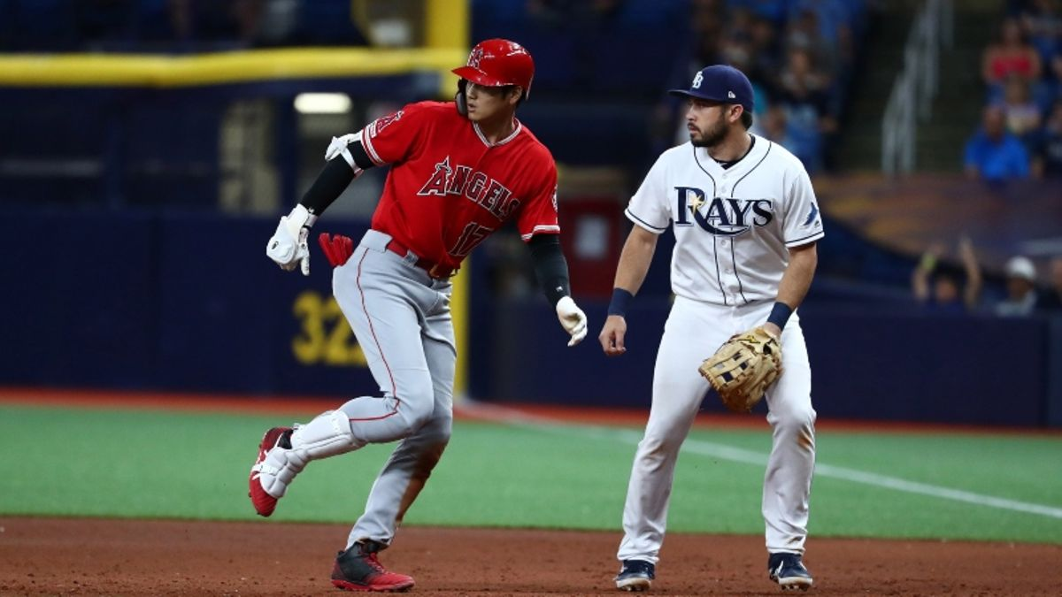 MLB Sharp Report: Pros Betting Angels-Rays, 2 Other Friday Games article feature image