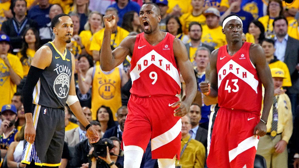 Warriors vs. Raptors NBA Finals Game 5 Betting Odds article feature image