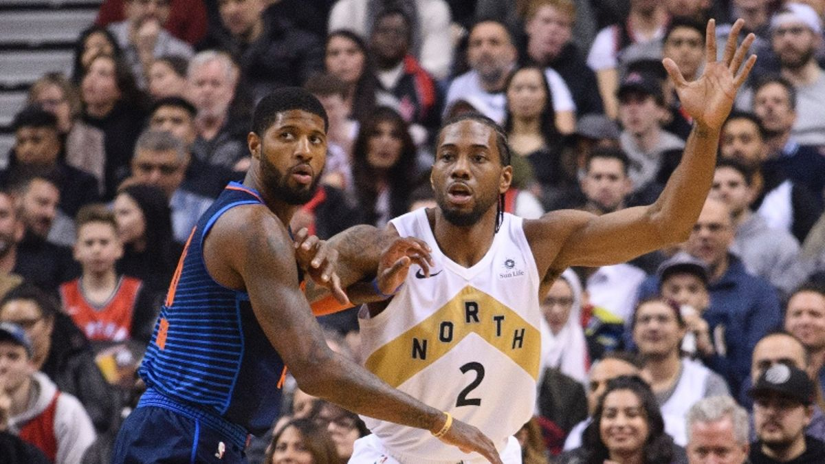 Updated NBA Title Odds: Clippers Soar, Raptors Plummet in Wake of Kawhi Signing, Paul George Trade article feature image