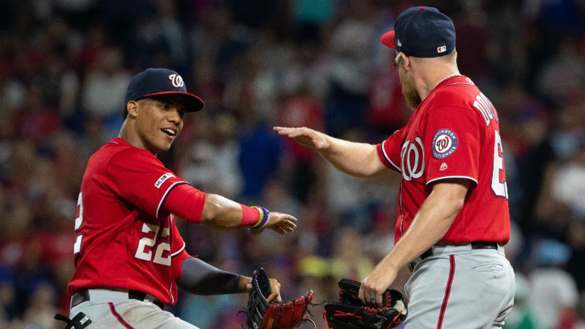 Sunday Night Baseball Betting Guide: Can Red-Hot Nationals Close Divisional Gap vs. Braves? article feature image