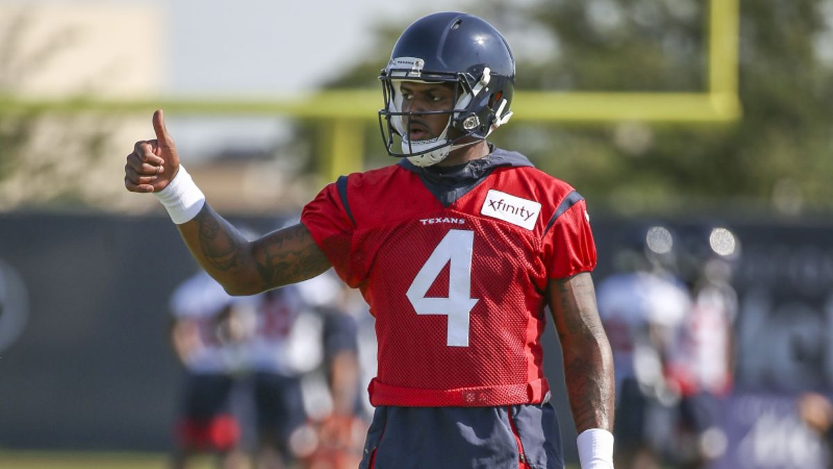 2019 NFL MVP Odds: Carr, Watson Among Popular Preseason Picks article feature image