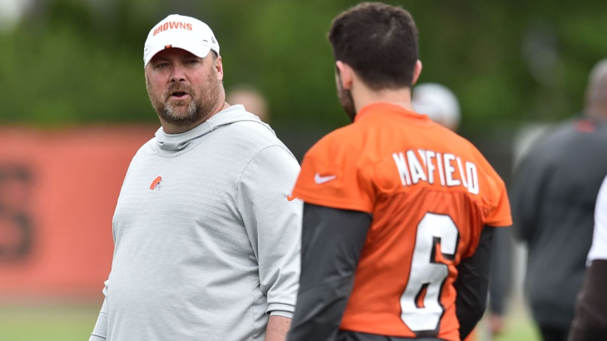2019 NFL Coach of the Year Odds: Cleveland's Kitchens the Preseason Favorite article feature image