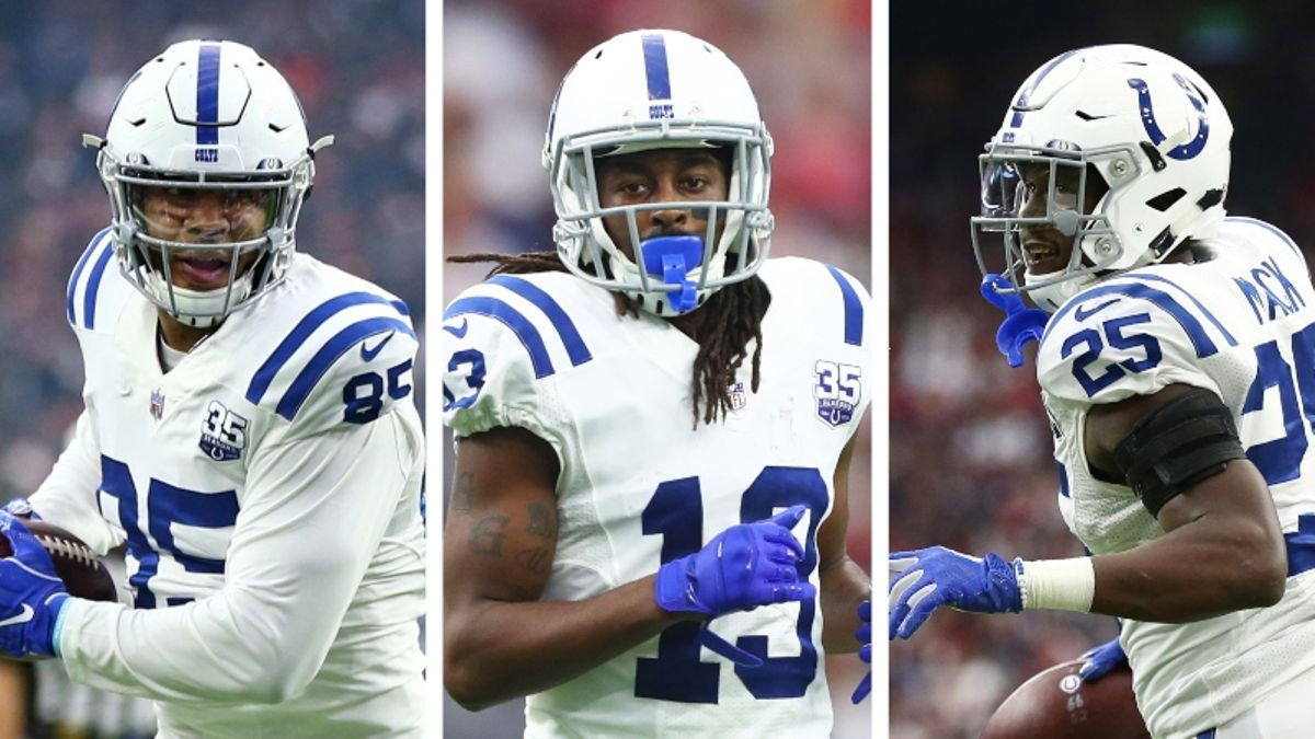 Andrew Luck Retirement Drops Fantasy Rankings for T.Y. Hilton, Marlon Mack, More Colts article feature image