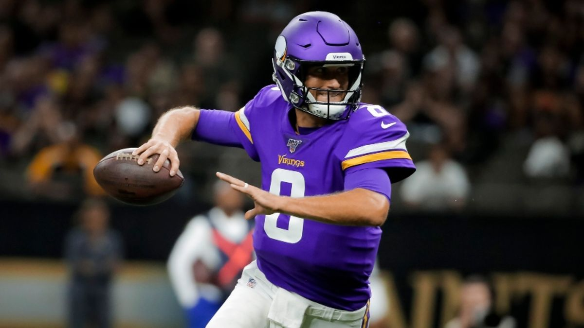 Vikings Odds, Win Total, Projected Spreads For Every 2019 Game, More article feature image