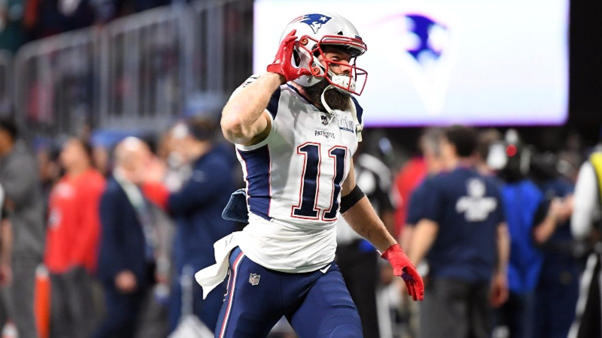 Is Julian Edelman Poised for the Best Fantasy Football Season of His Career? article feature image