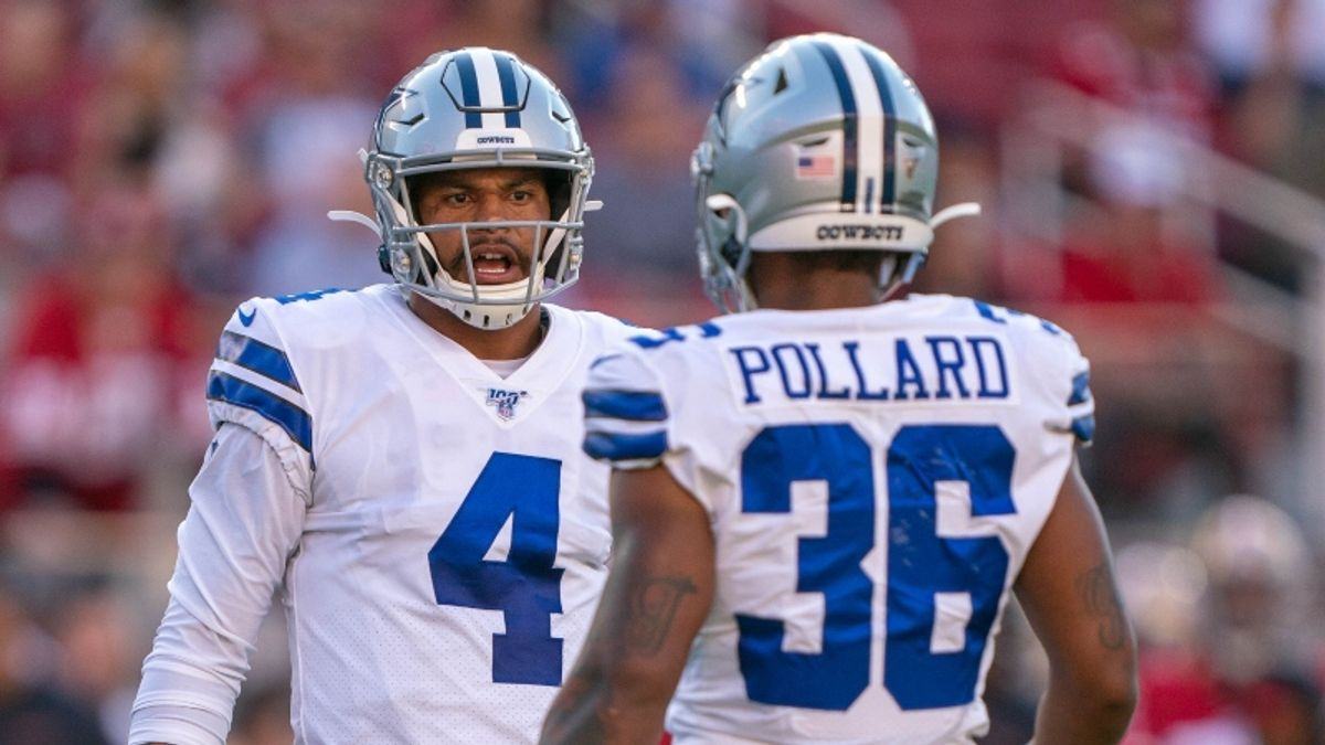 Cowboys vs. Eagles Odds, Promo: Bet $10, Win $200 if the Cowboys Score a TD! article feature image
