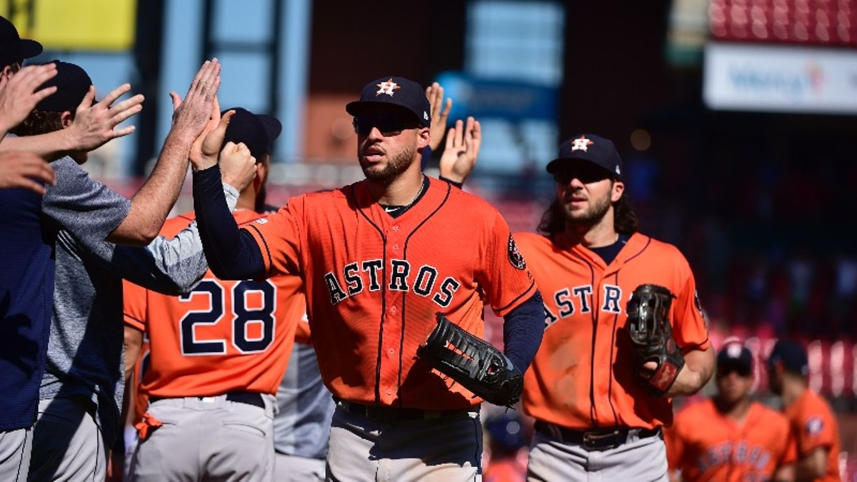 MLB Futures Odds: Does Greinke Make the Astros Smart World Series Bets? article feature image