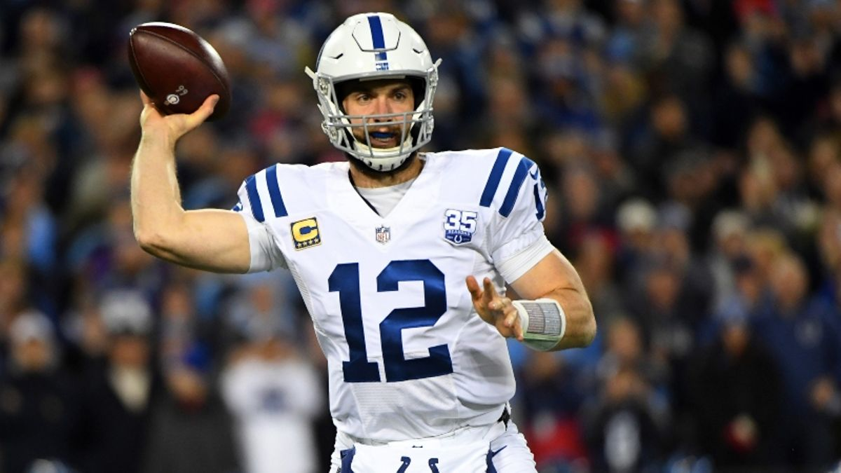 Watch: NFL Experts Discuss Andrew Luck/Lamar Miller Fantasy Fallout, Answer Draft Questions, More article feature image