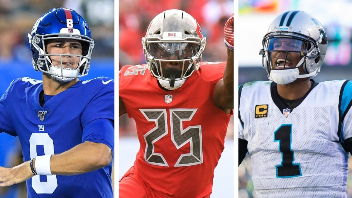 NFL Preseason Week 2: Betting Odds & Angles for Bears-Giants, Bills-Panthers, Dolphins-Bucs article feature image