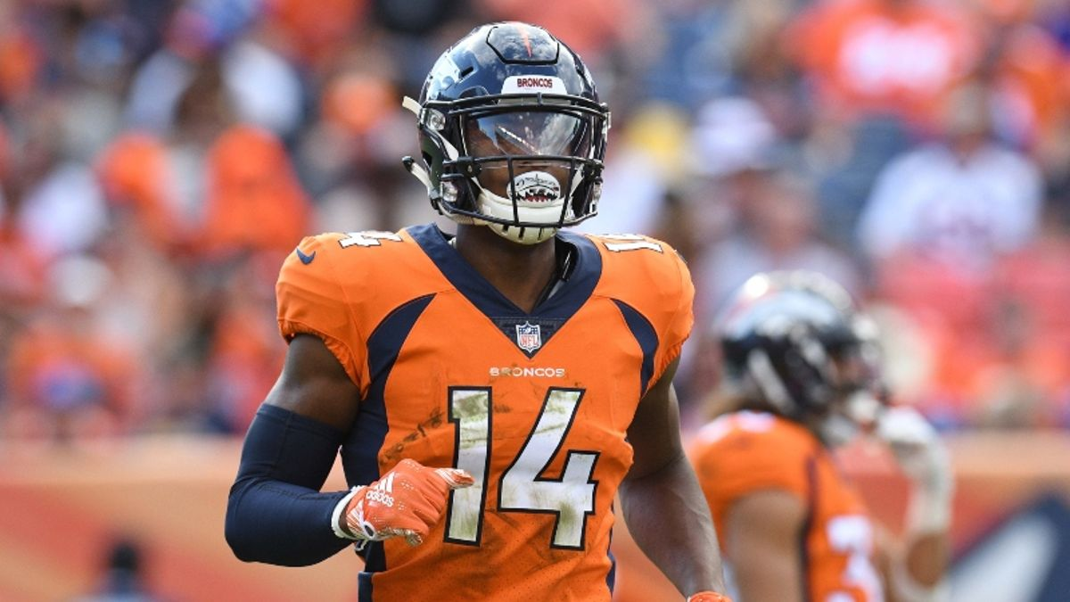 Is Courtland Sutton the Fantasy Football Wide Receiver to Buy in Denver? article feature image
