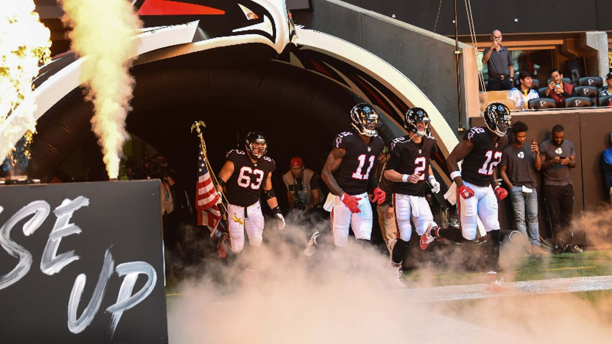 Falcons Odds, Win Total, Projected Spreads For Every 2019 Game, More article feature image
