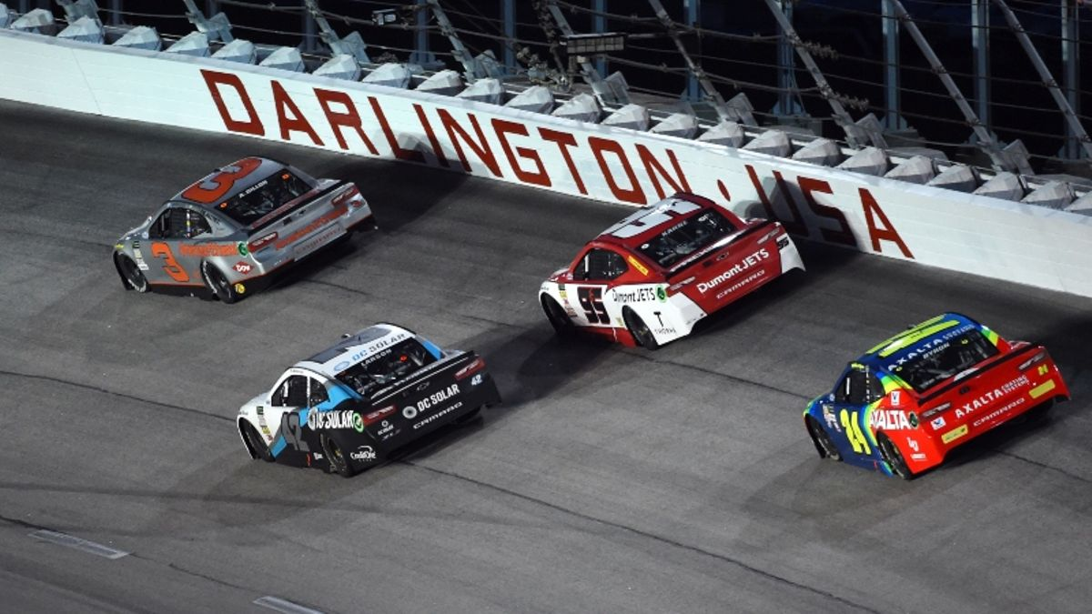 NASCAR Props Challenge Picks for Sunday's Bojangles' Southern 500 article feature image