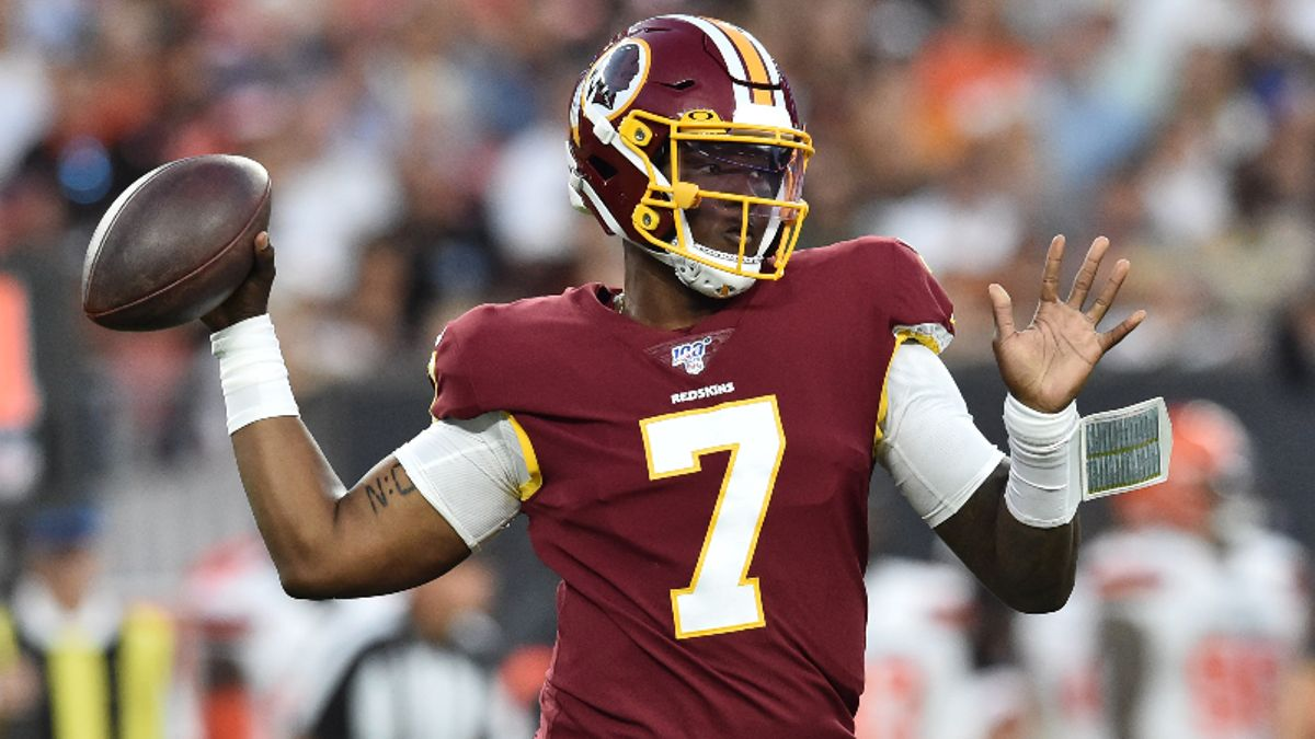 Bengals vs. Redskins Betting Guide: Will Week 2 Go Better for Dwayne Haskins? article feature image
