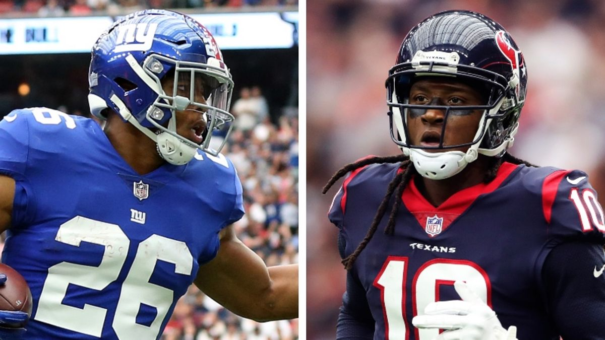 Experts Debate Fantasy Draft Strategy: Should You Go RB or WR in Round 1? article feature image