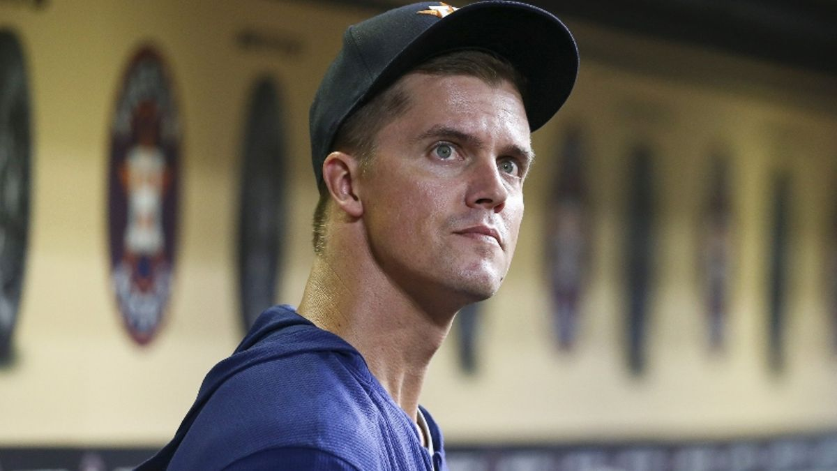 Zerillo's MLB Daily Betting Model, 8/6: How to Bet Zack Greinke in His Astros Debut article feature image