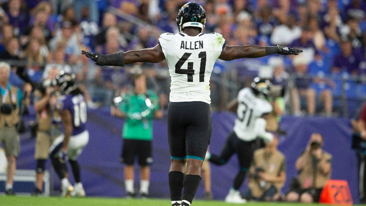 Eagles vs. Jaguars Betting Guide: Is Jacksonville's Defensive Depth Enough? article feature image