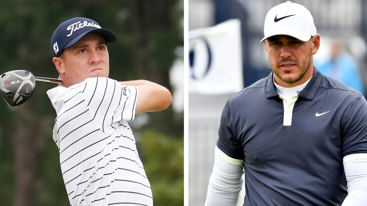 Sobel: Justin Thomas Leads Brooks Koepka in Season-Long Head-to-Head Wager article feature image