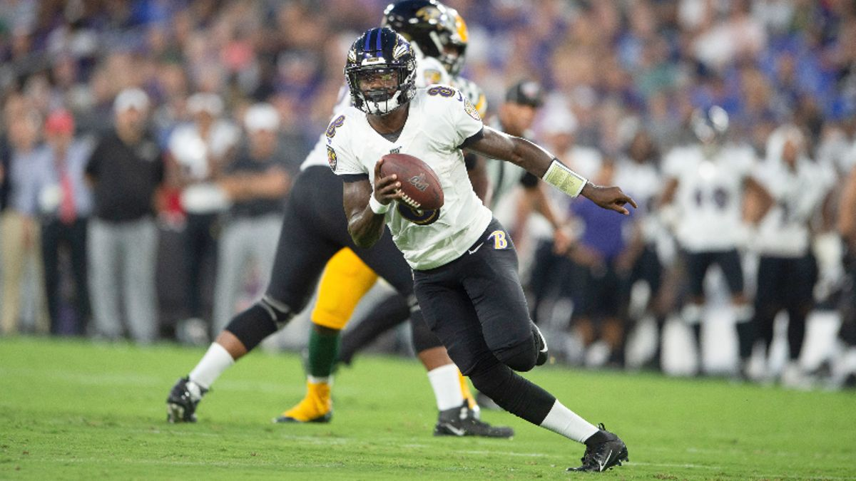 Ravens vs. Eagles Betting Guide: Lamar Jackson Can't Be Stopped article feature image