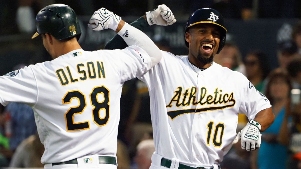 Zerillo's MLB Daily Betting Model, Aug. 24: Will Athletics Continue Southpaw Dominance vs. Bumgarner, Giants? article feature image