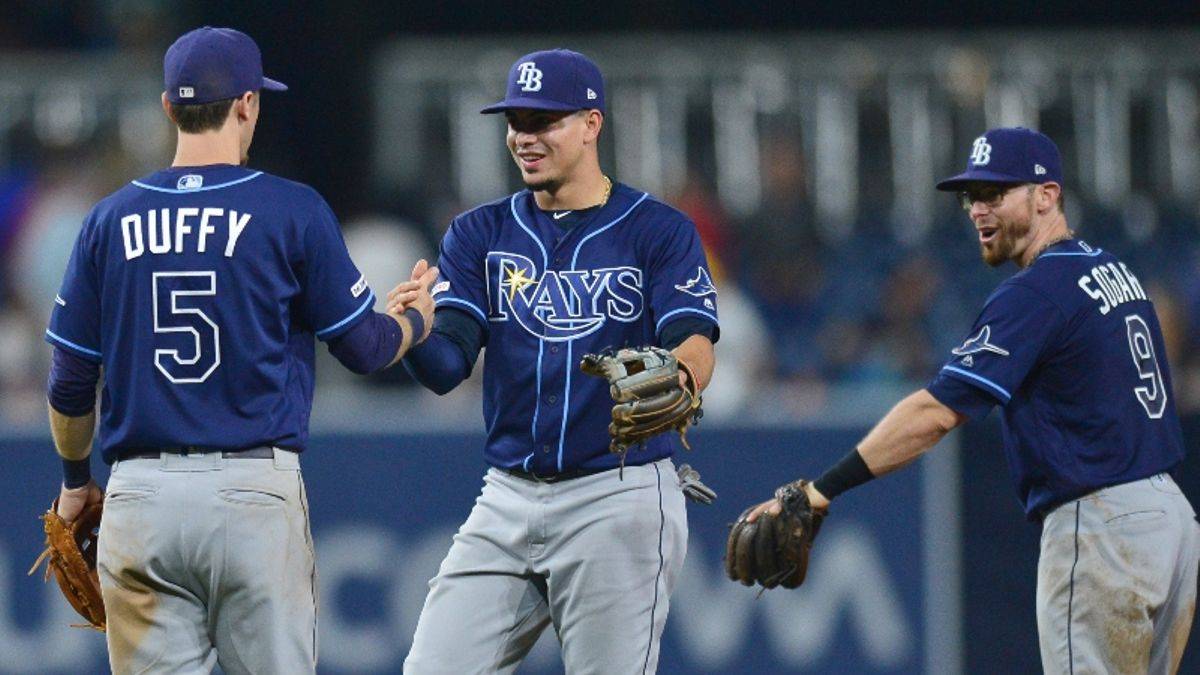 MLB Sharp Report: Pros Eyeing Red Sox-Indians, Rays-Padres Over/Unders article feature image