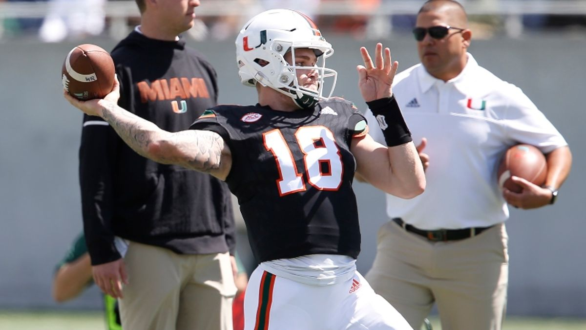 Quarterback News Moving Miami vs. Florida Over/Under article feature image
