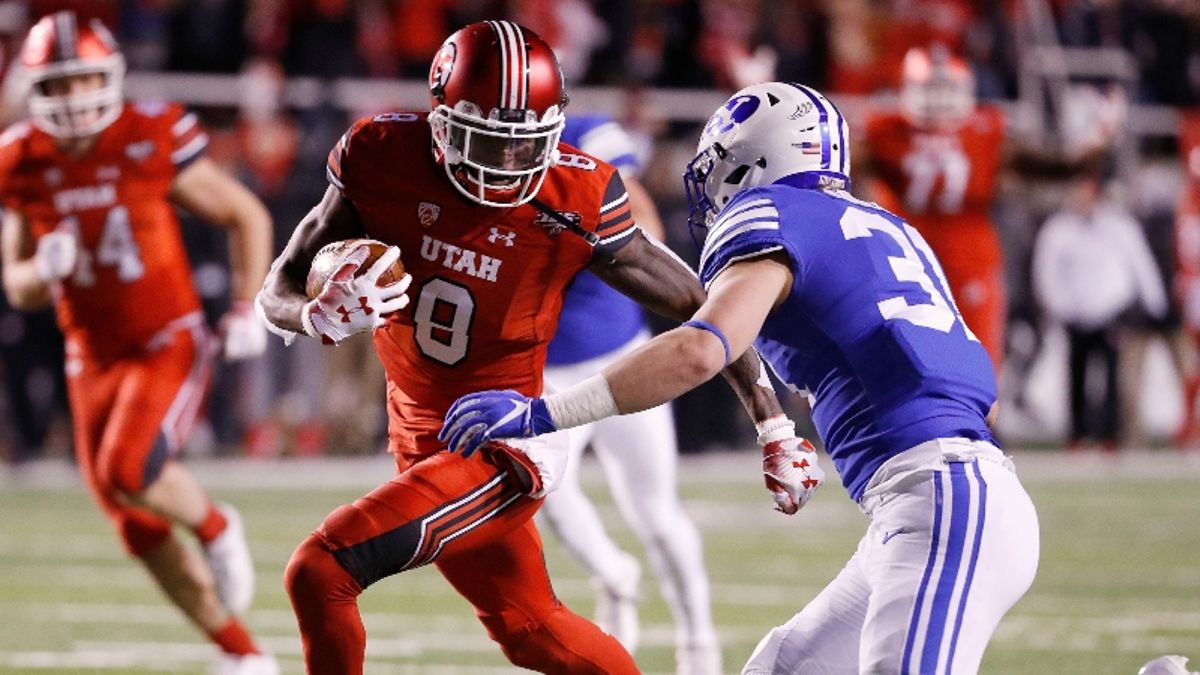 Thursday College Football Sharp Report: How Pros Are Betting Utah vs. BYU, 2 Other Games article feature image