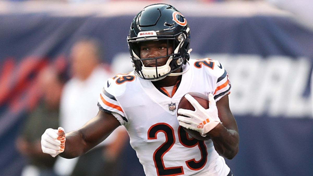 3 Best MNF Prop Bets for Bears vs. Redskins: Tarik Cohen's Rushing Yards, More article feature image