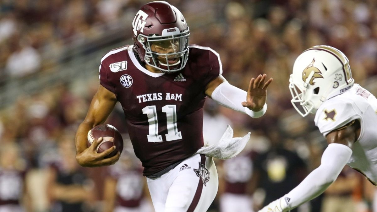Wilson: College Football Week 2 Games I Bet Right Away, Including Texas A&M-Clemson article feature image