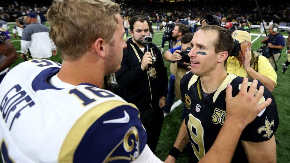 NFL Expert Picks for Saints-Rams, Chiefs-Raiders & Bears-Broncos article feature image