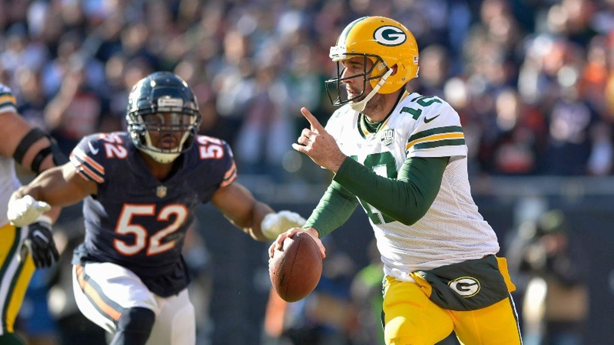 Packers vs. Bears Betting Odds & Angles: What Our Projections Say About the Season Opener article feature image