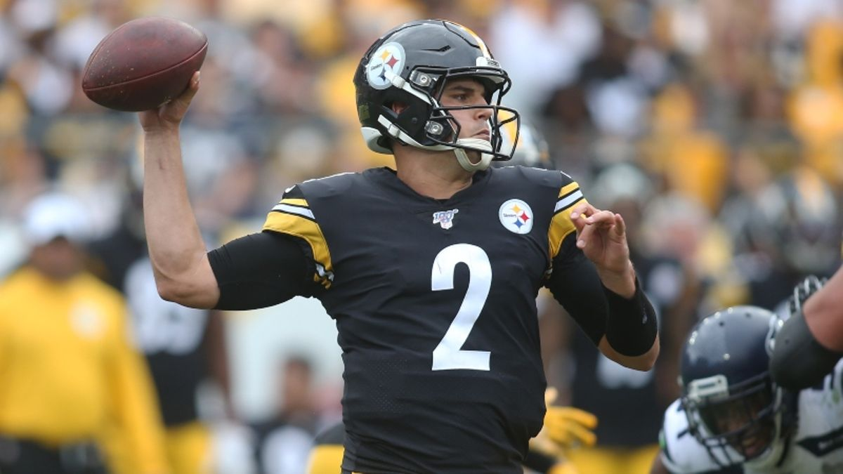 NFL Week 3 Dynasty Fantasy Football Risers & Fallers: Buy Mason Rudolph After Big Ben Injury? article feature image