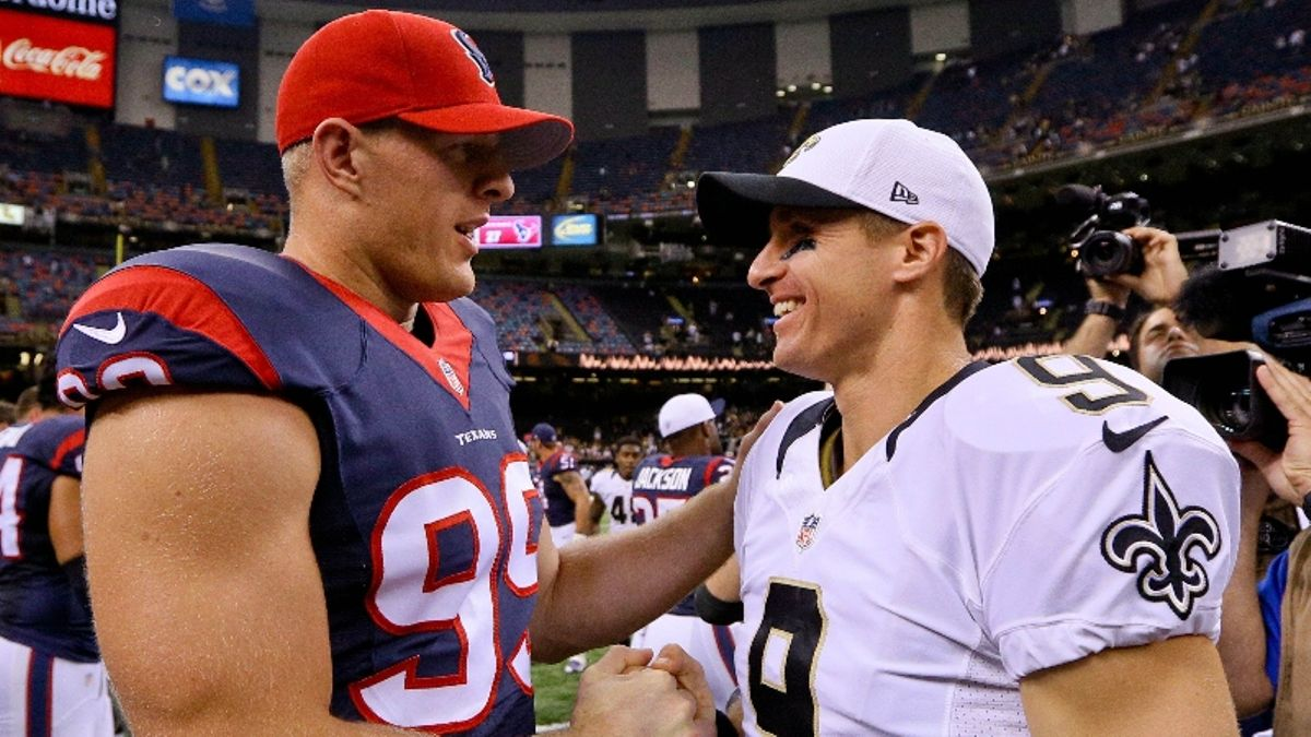Saints vs. Texans Odds, Predictions, Monday Night Football Cheat Sheet article feature image