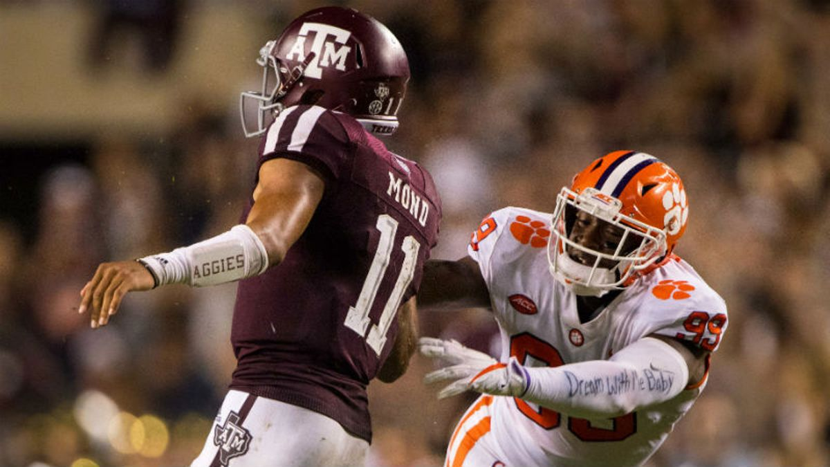 Texas A&M vs. Clemson Betting Odds & Guide: Is This Line Too High? article feature image