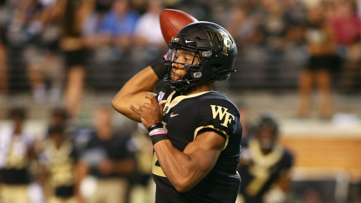 Betting Odds & Angles for Wake Forest vs. Rice, Boise State vs. Marshall: How to Bet Friday's Games article feature image
